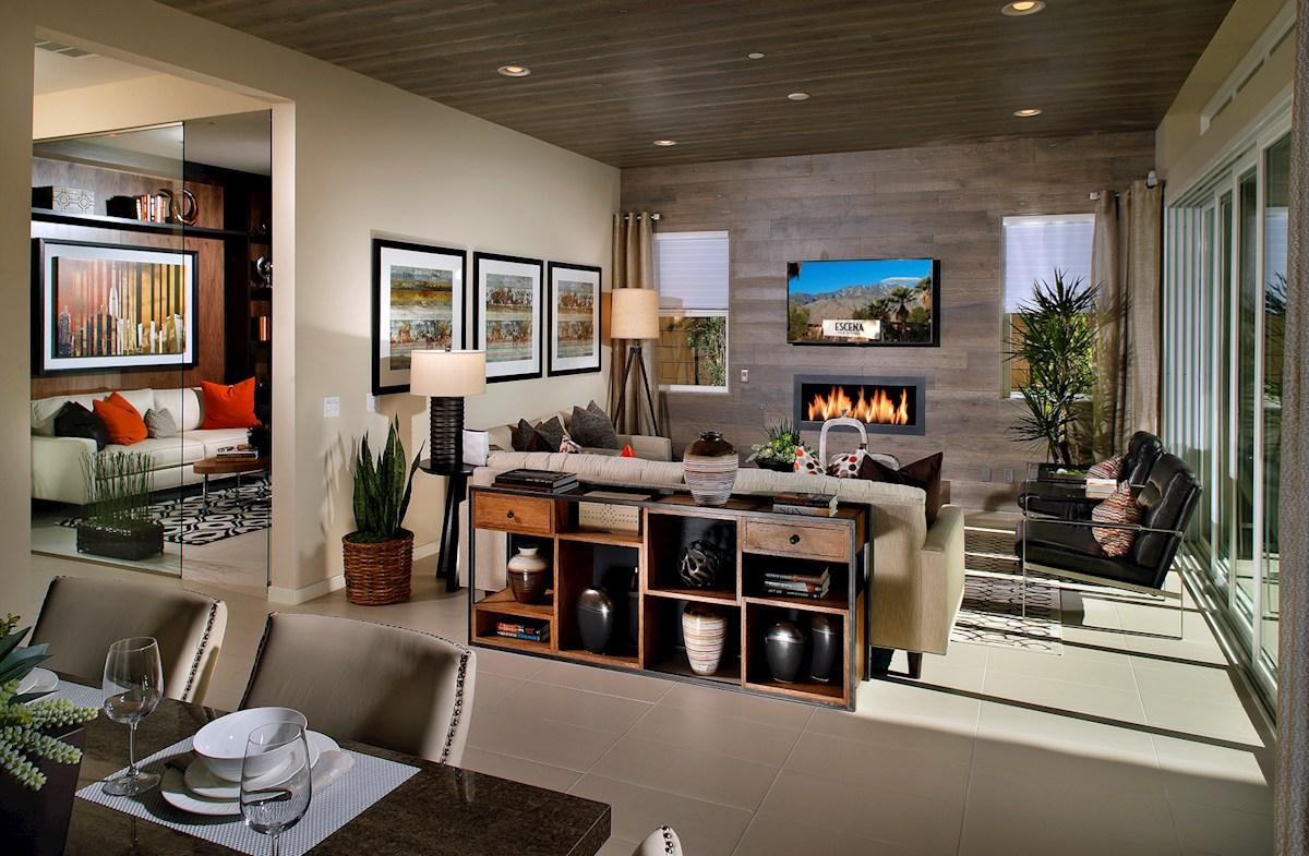 Vermillion at Escena Residence 1 Plan 1 open dining room