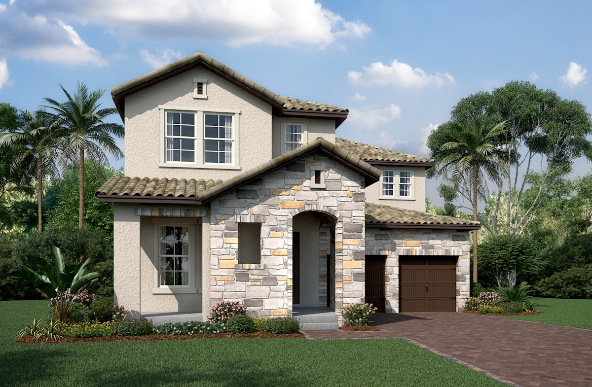 Cascade Elevation Tuscan L