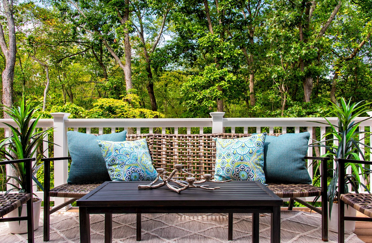 Homesites featuring decks with wooded views
