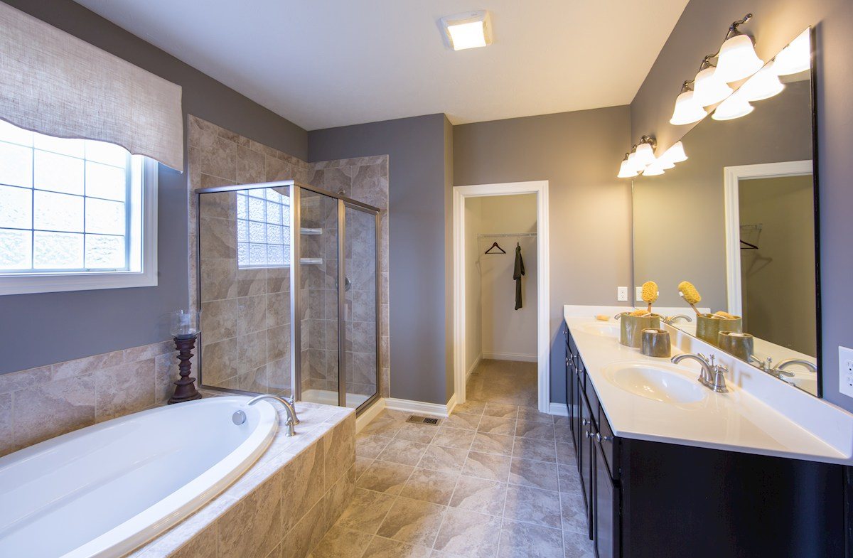 Hampshire Meridian Collection  Capitol Luxury awaits you in this spa inspired bath