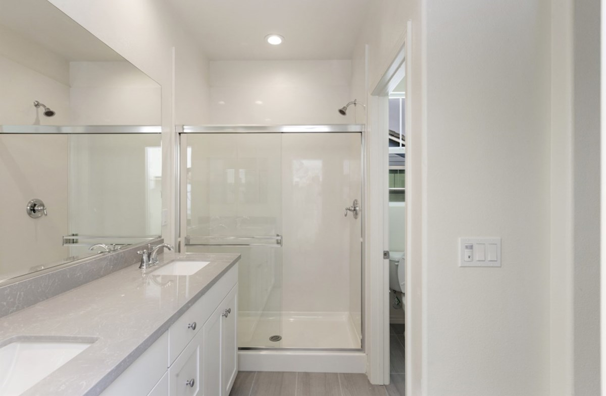 Pipit quick move-in Separate vanities give you more space and privacy