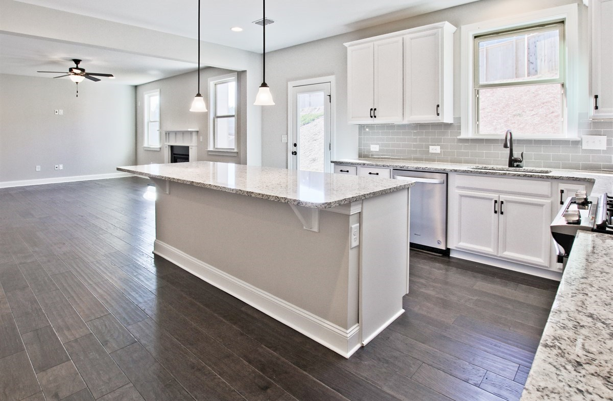 Manchester quick move-in Kitchen with granite countertops