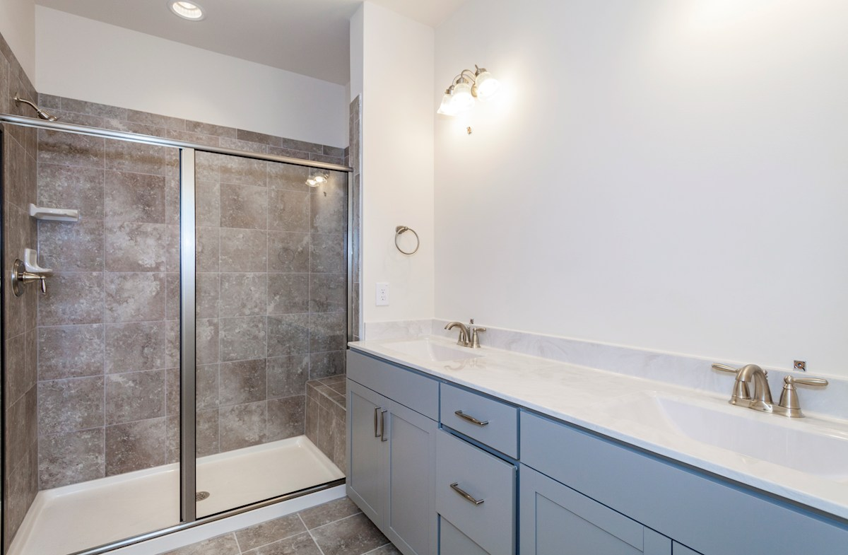 Peak 502 Hunter spa-inspired Choice Master Bathroom