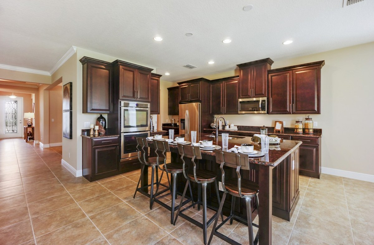 Lakeshore of Wekiva Macarthur II chef-inspired kitchen