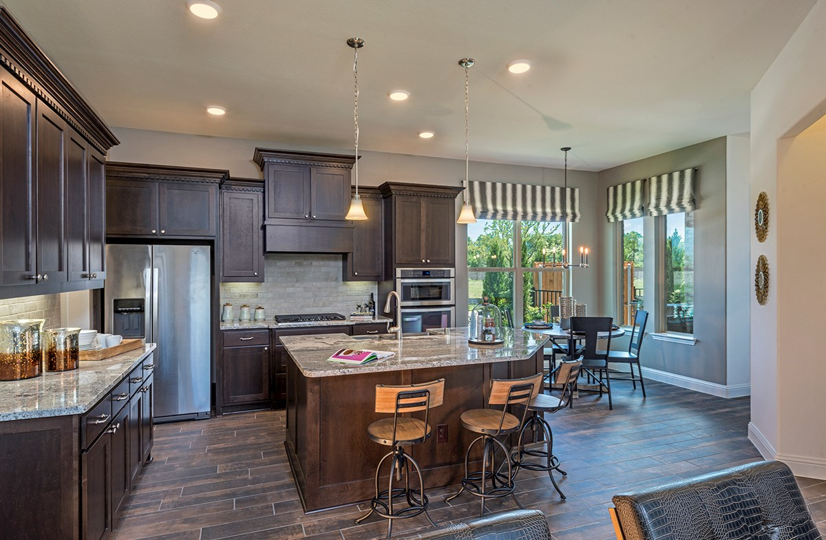 Hamilton kitchen features breakfast nook