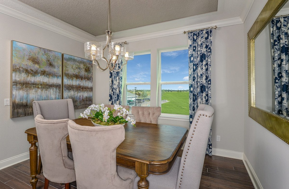 Dogwood quick move-in formal dining room