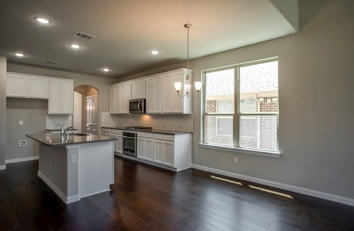 Prescott quick move-in kitchen with granite countertops