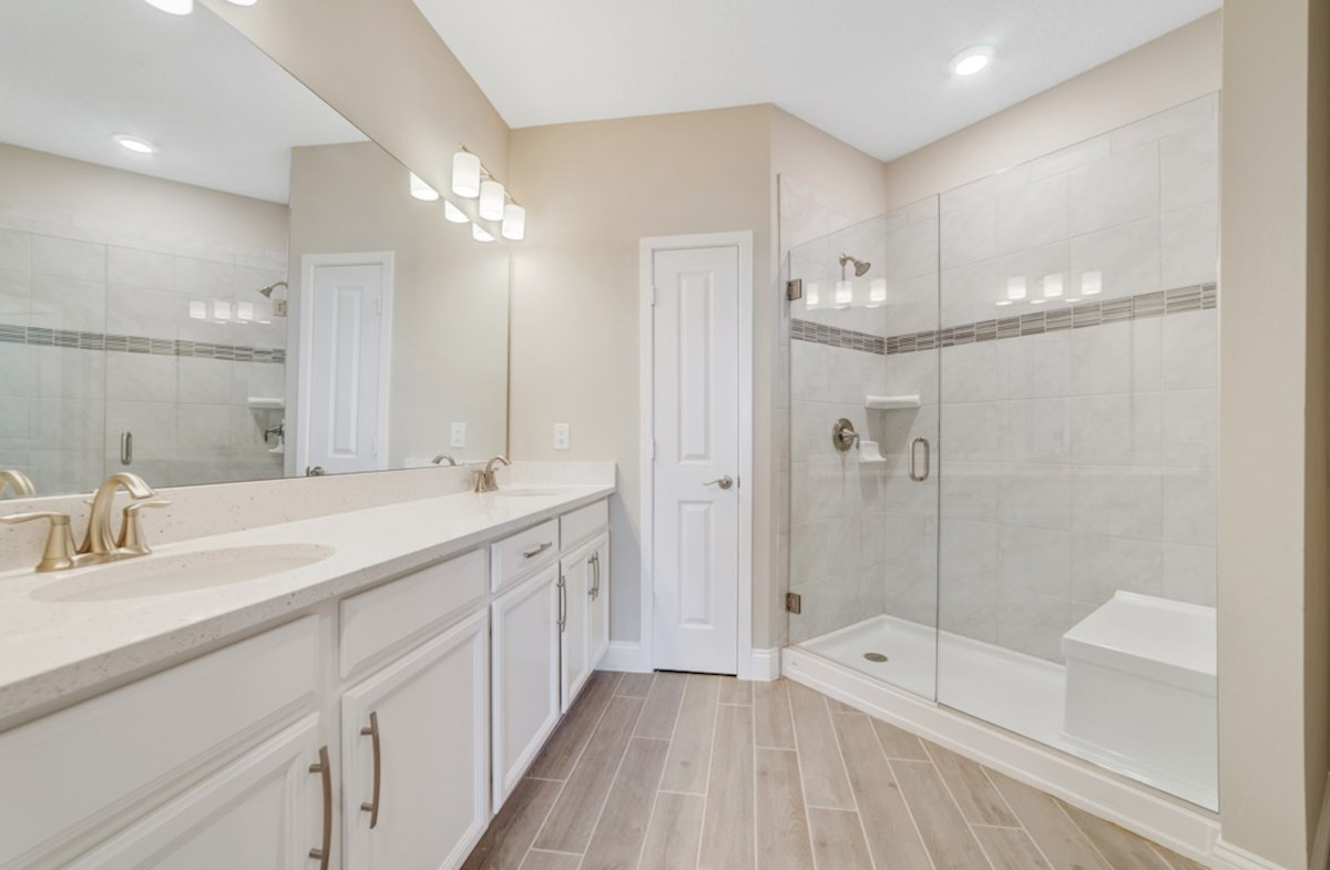Chestnut quick move-in luxurious master bath
