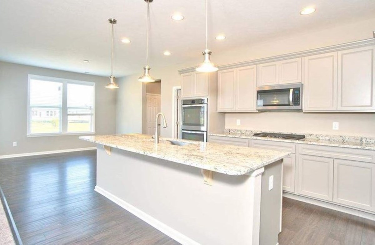 Whitley quick move-in Gourmet kitchen with double ovens