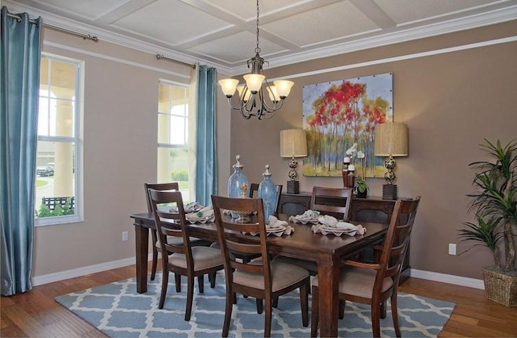 Reserve at Sawgrass Sequoia elegant dining room