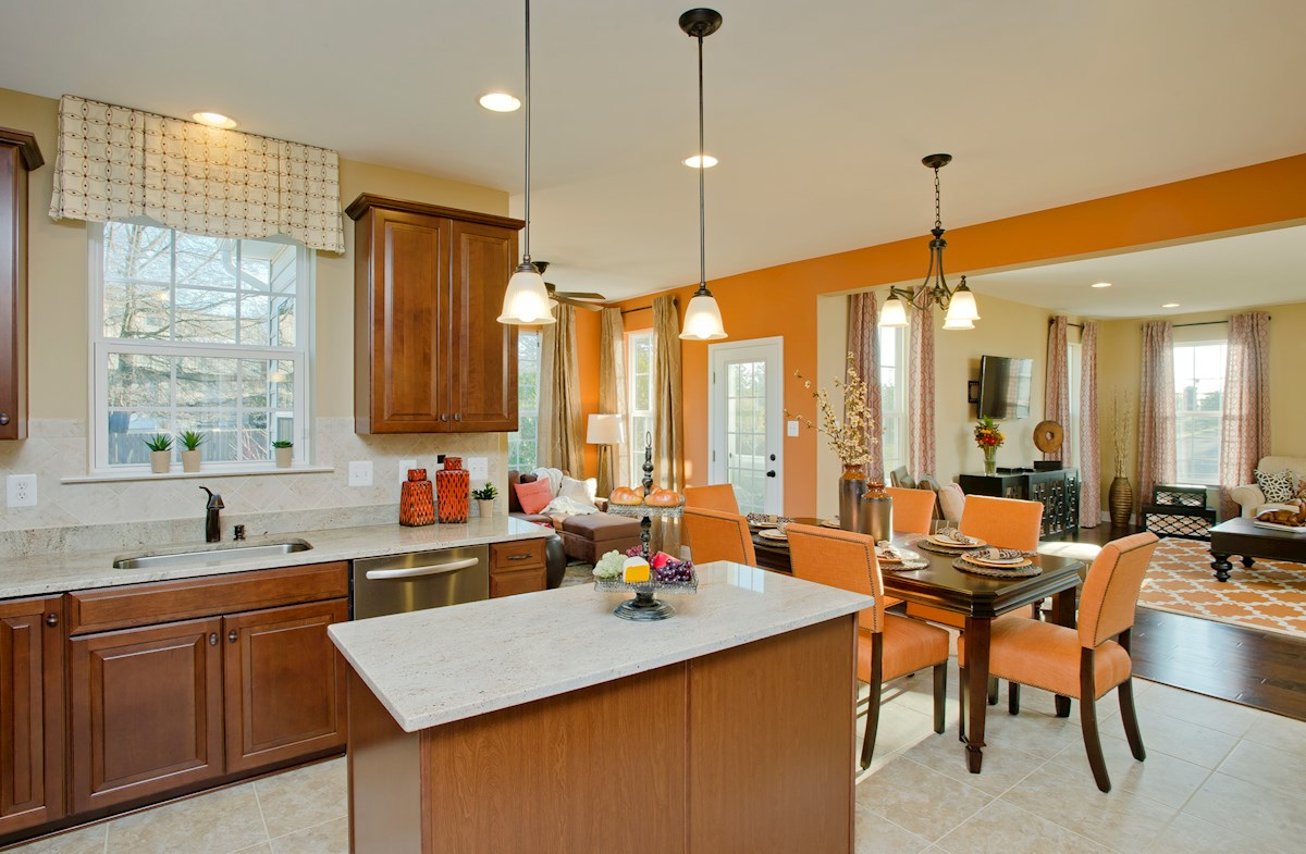 The Preserve at Windlass Run - Single Family Homes Oxford open-concept kitchen