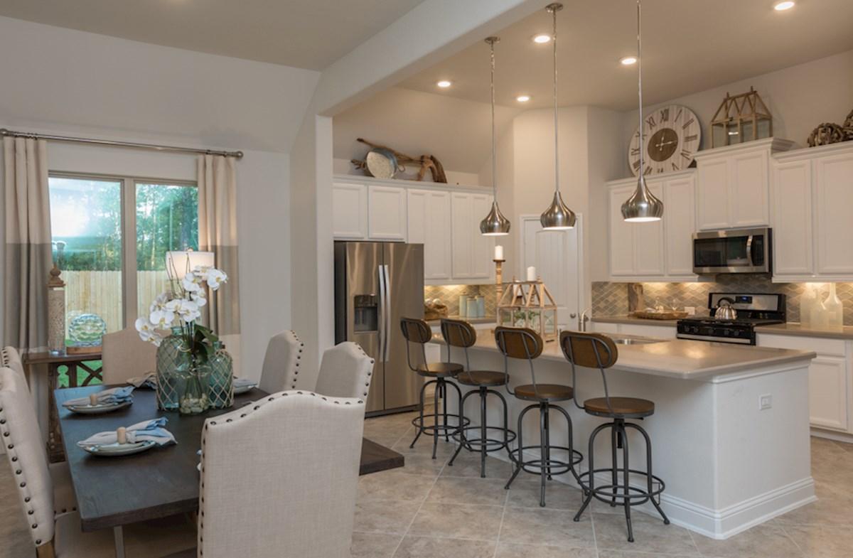 Madison kitchen with large island