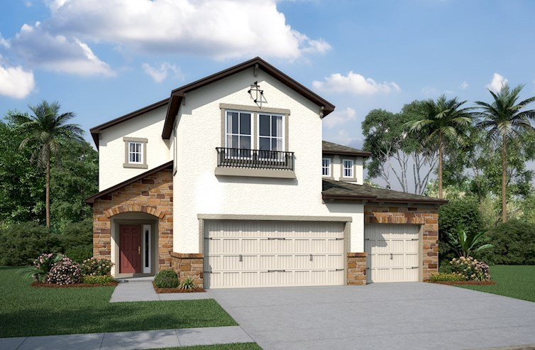 Lucia Bay Elevation Tuscan L