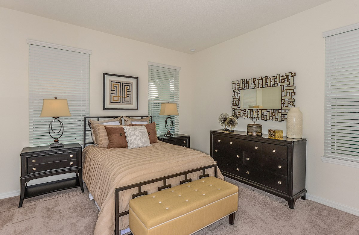 Summerlake Townhomes Concord relaxing master bedroom