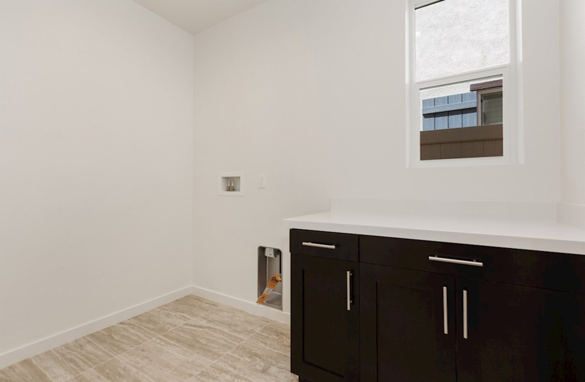 Aster X quick move-in Abundant storage in the convenient upstairs laundry room