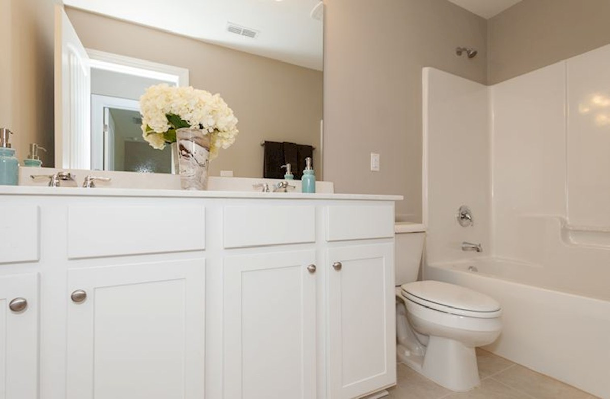 Hillwood Concord double sinks in bathroom