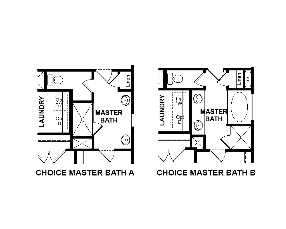 Choice options for 2nd Floor