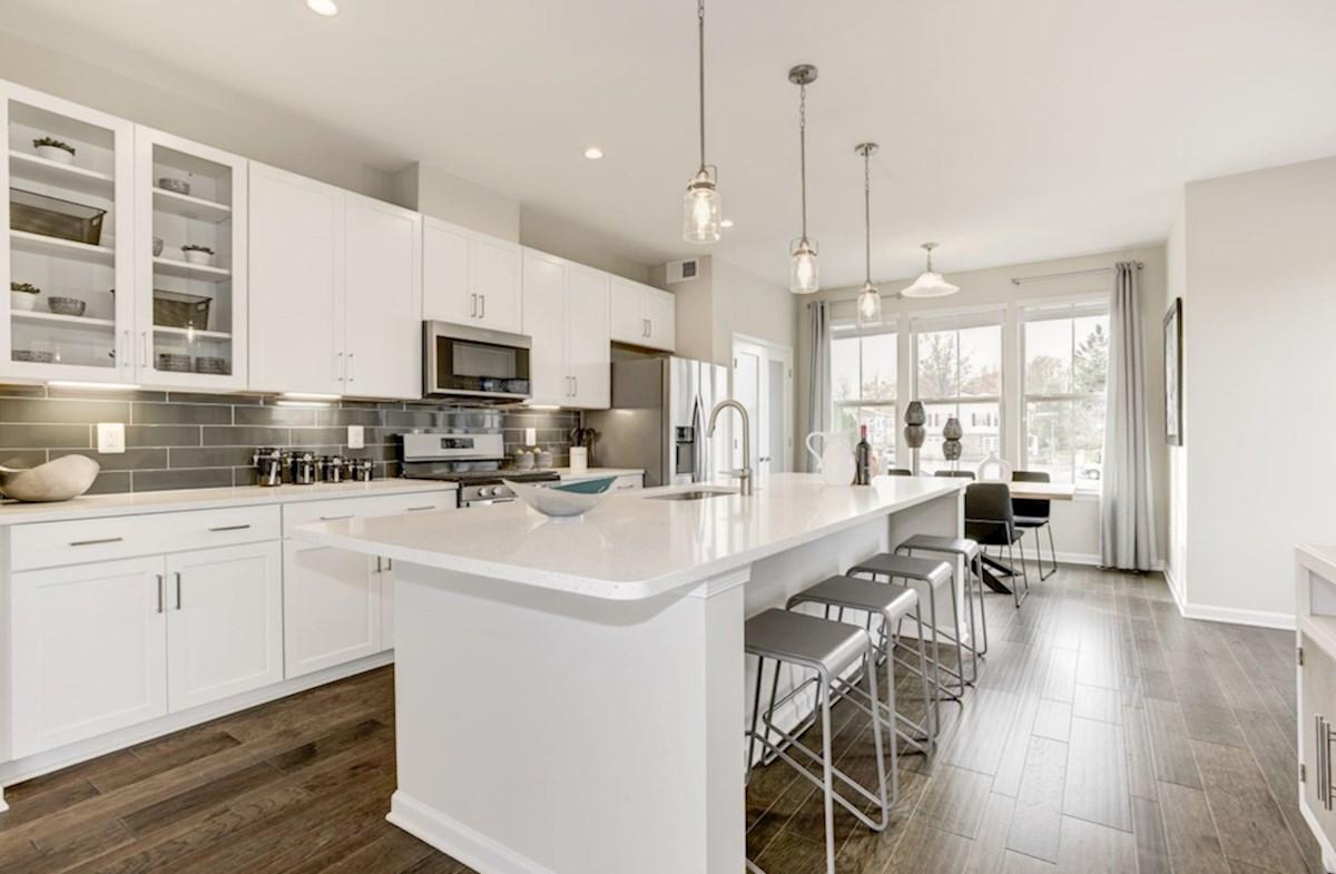 Enclave at Long Branch Belhaven spacious kitchen
