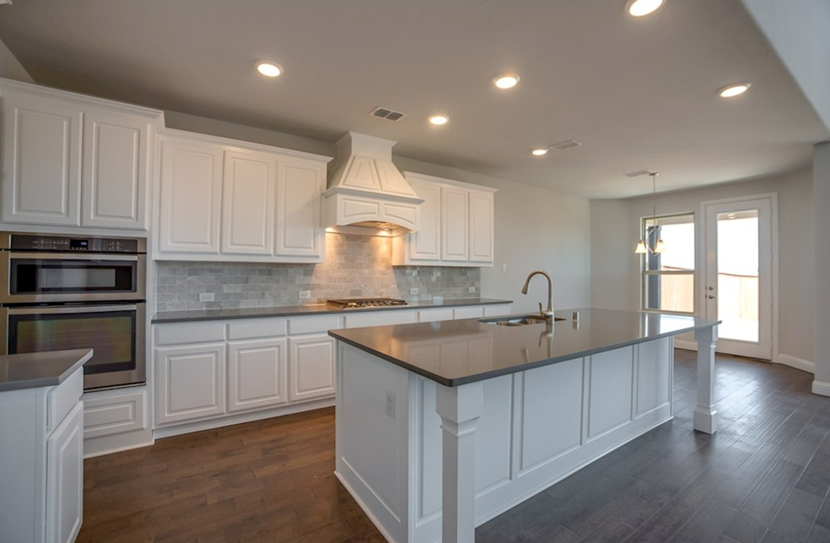 Madison quick move-in large island in kitchen