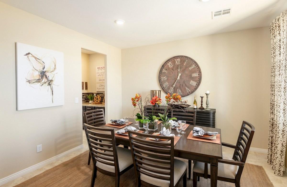 Burson Verano formal dining room in the Verano model