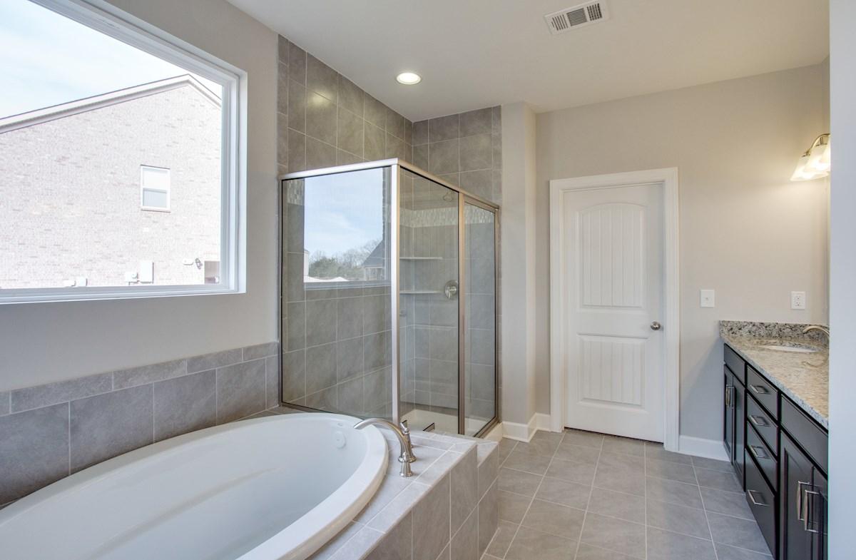 Greenwich quick move-in spa-like master bath