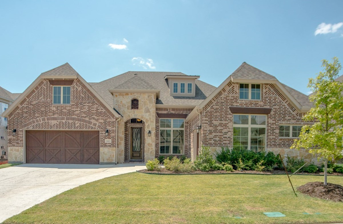 Orleans Elevation French Country U quick move-in