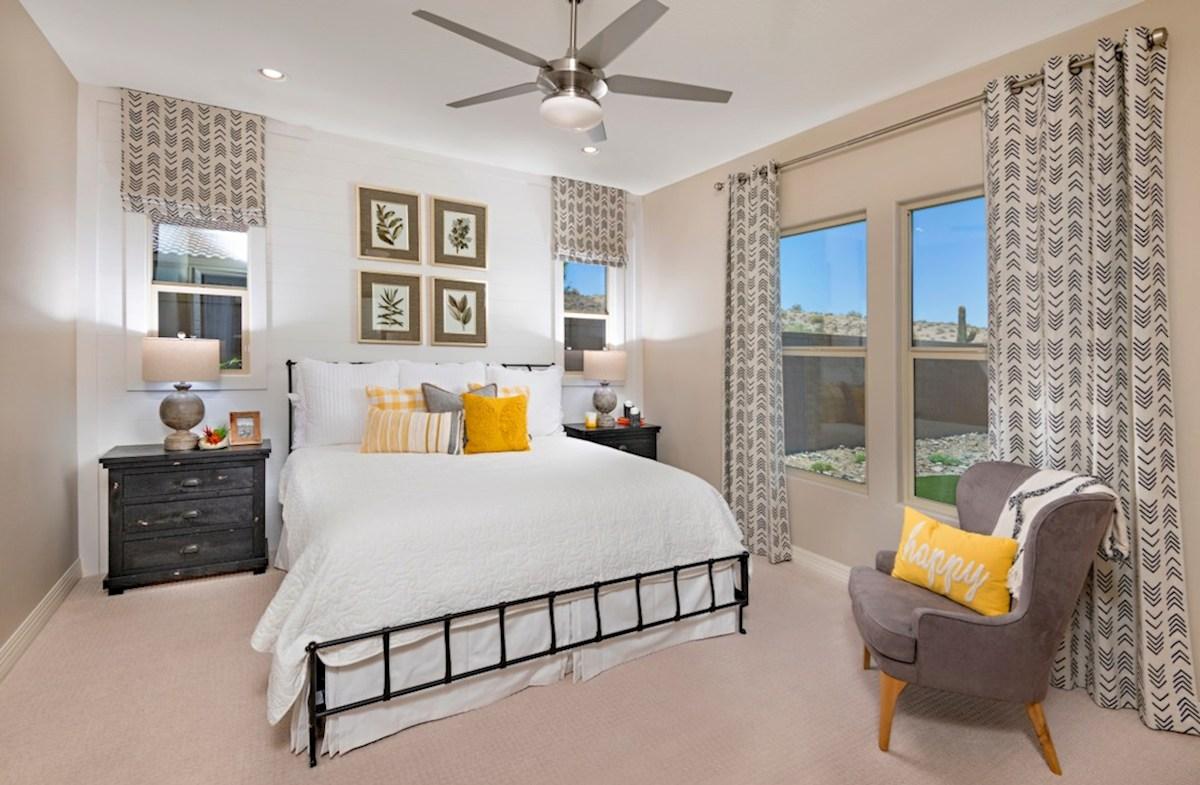 Statler Place at Marley Park Camelback Camelback Model Master Bedroom