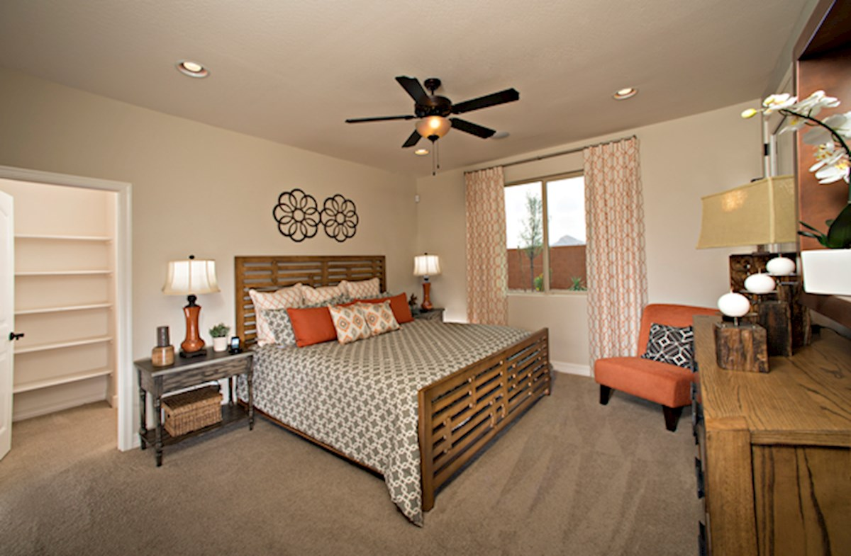 Morning Sun Farms Silverado large master bedroom