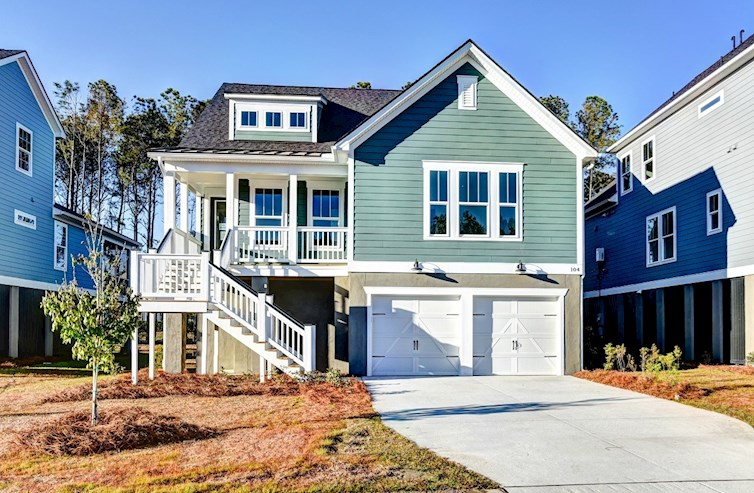 Oakcrest Elevation Coastal A
