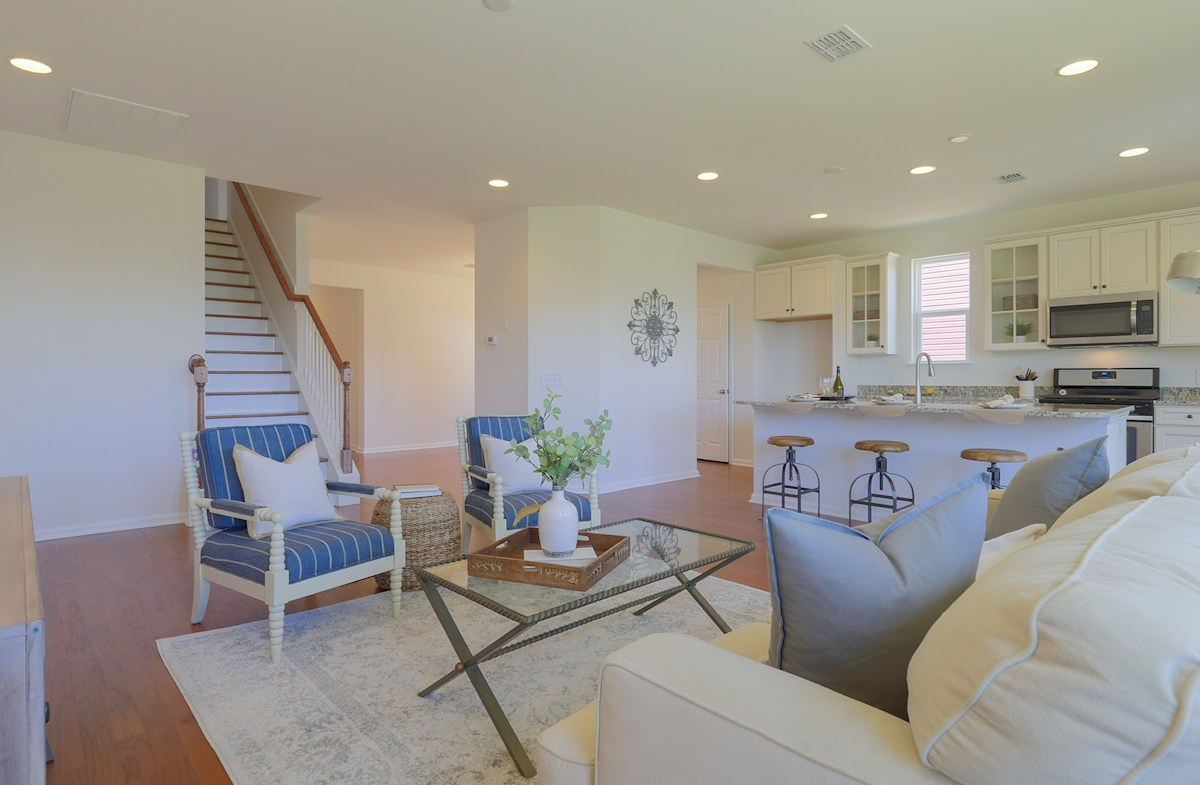 The Oaks at Cane Bay Turner open floorplan