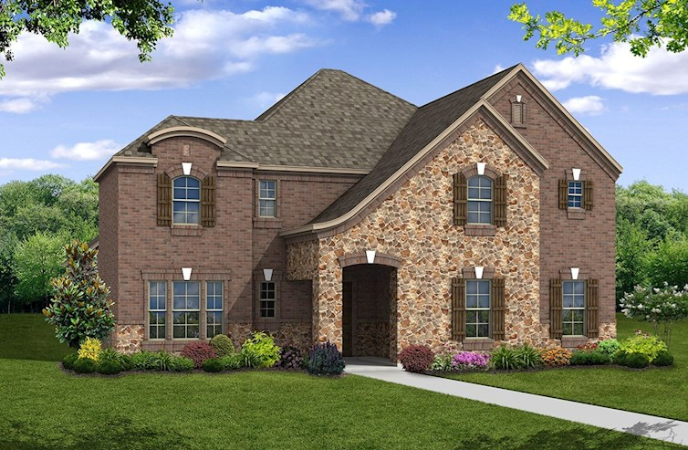 Westfield Elevation French Country U