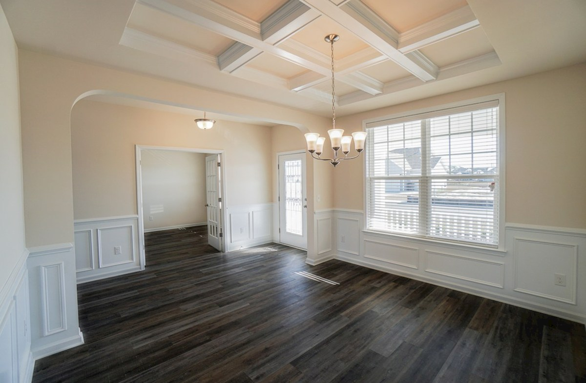 Ivey quick move-in open dining room off of foyer