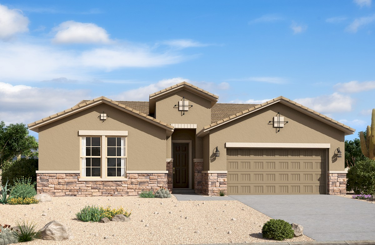 Rockwell Home Plan in Alessandria at Windrose, Litchfield Park, AZ ...