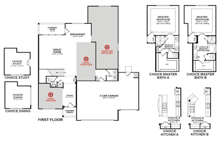 Armstrong home plan in young ranch katy tx beazer for Armstrong homes floor plans