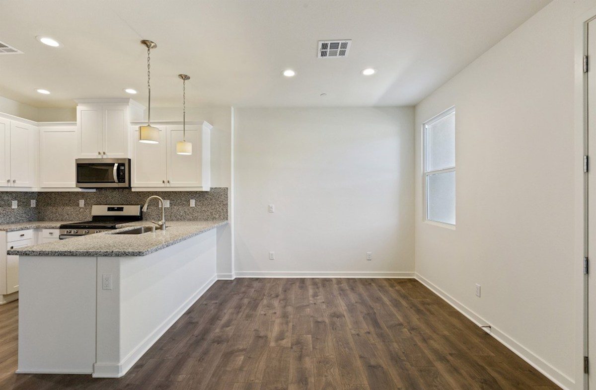 Foxtail quick move-in The dining room provides the perfect space for dinner parties or special family occasions