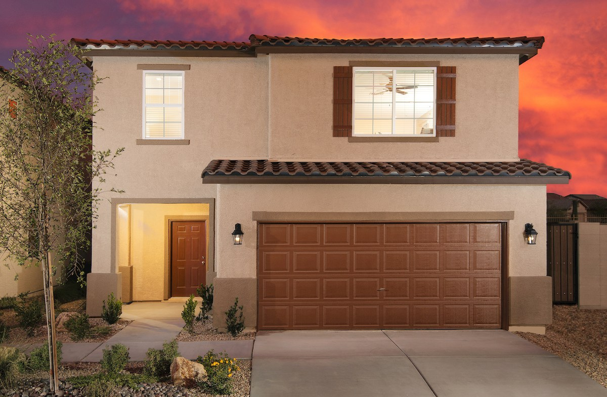 Mediterranean Exterior on Sedona model