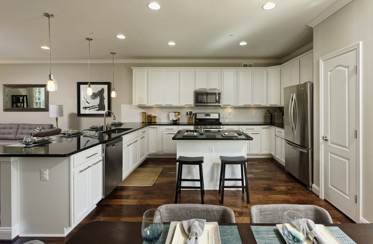 The Preserve at Windlass Run Townhomes  Frederick Frederick Kitchen