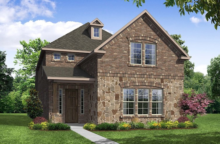 Brenham Elevation Traditional L