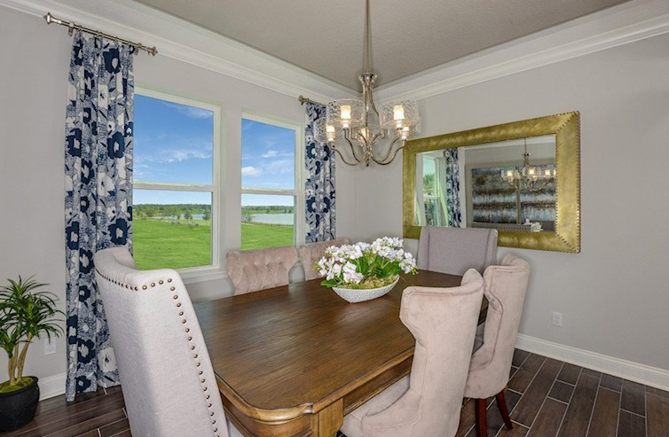Gatherings® at Mercer Crossing Wiltshire Sherwood Formal Dining Room