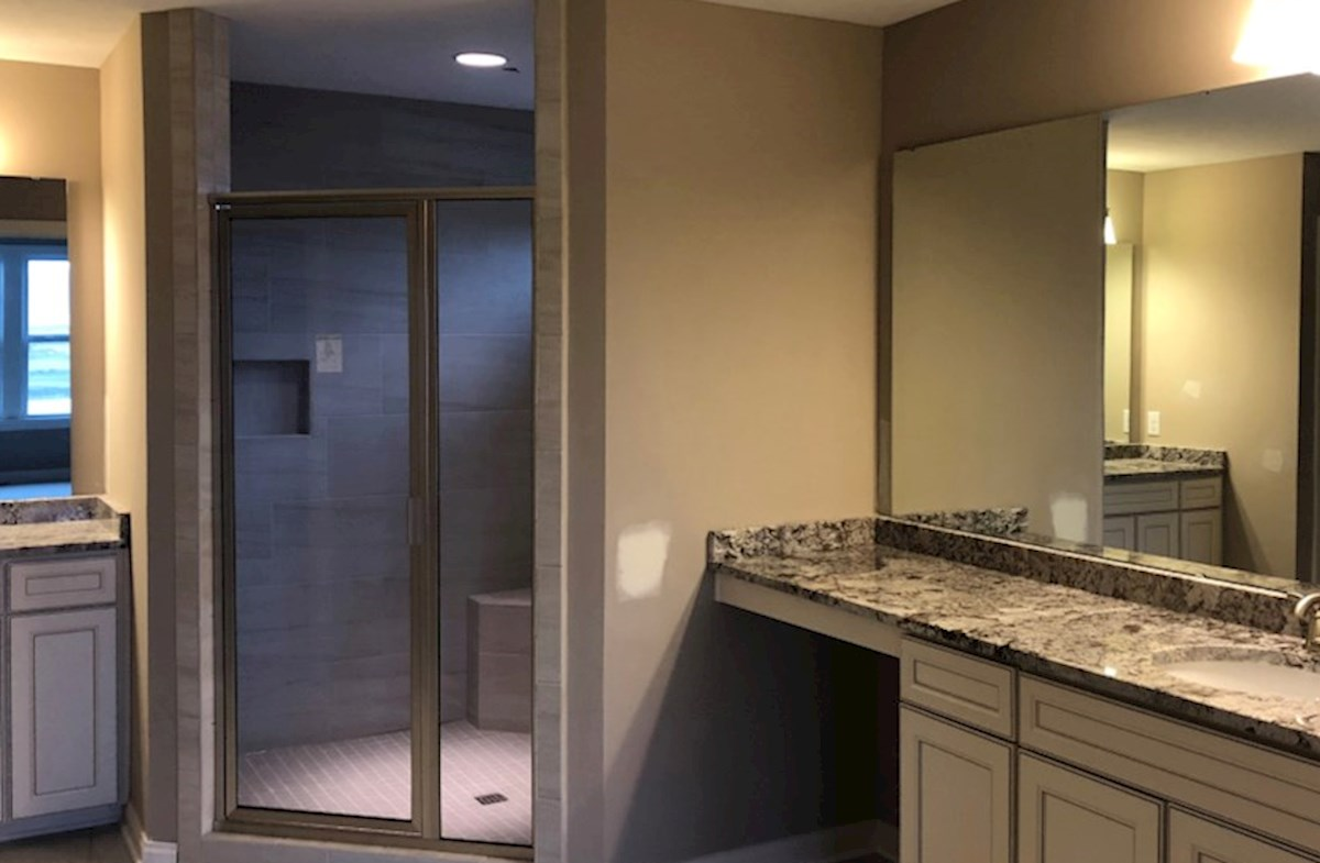 Oakhill quick move-in Spa-inspired master bath