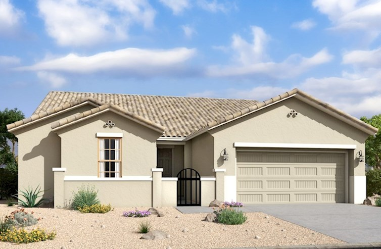 Winslow Elevation Spanish Colonial M