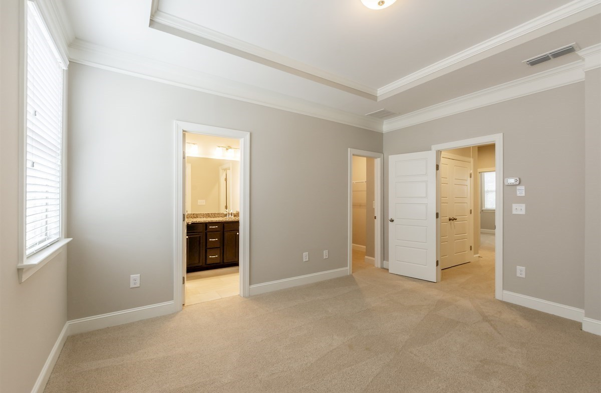 Ashland quick move-in Master Bedroom with tray ceiling