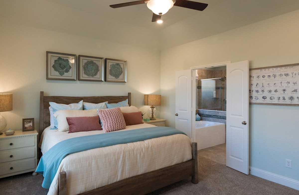 Enclave at Hayden Lakes Franklin spacious master bedroom