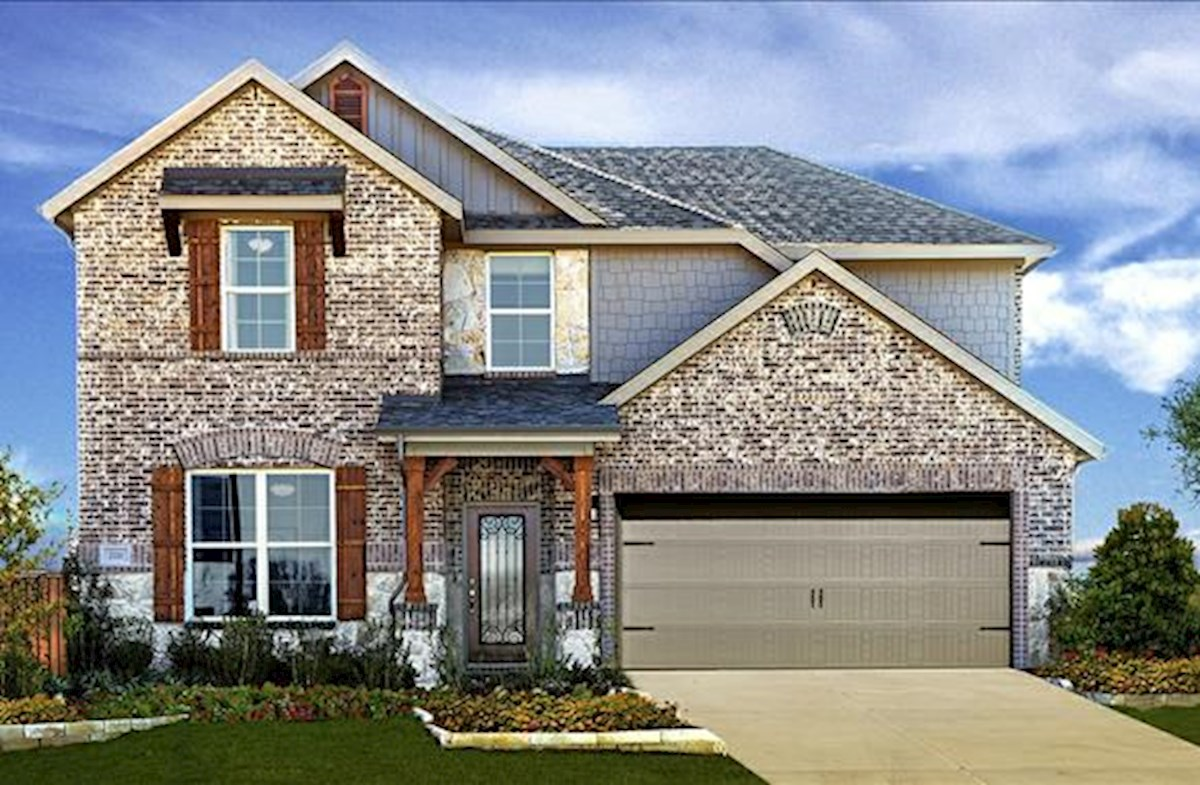 exterior stone accents