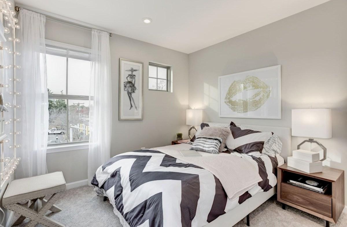 Enclave at Long Branch Alexander well-lit bedroom