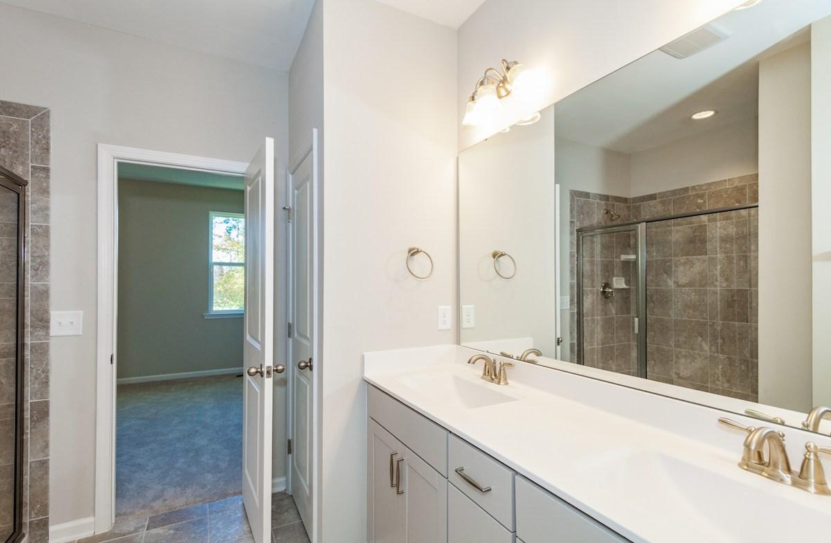 Peak 502 Olive spa-inspired Choice Master Bathroom