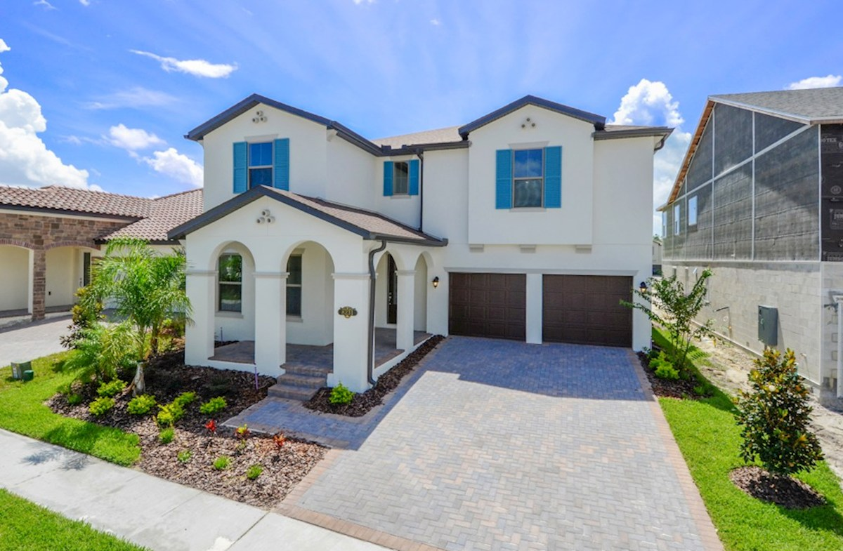 Luciana Elevation Spanish Colonial N quick move-in