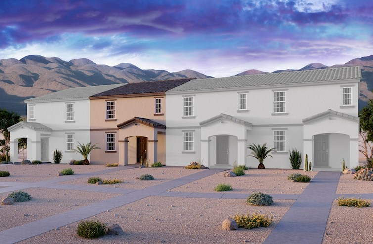 Bedford Elevation Spanish Colonial