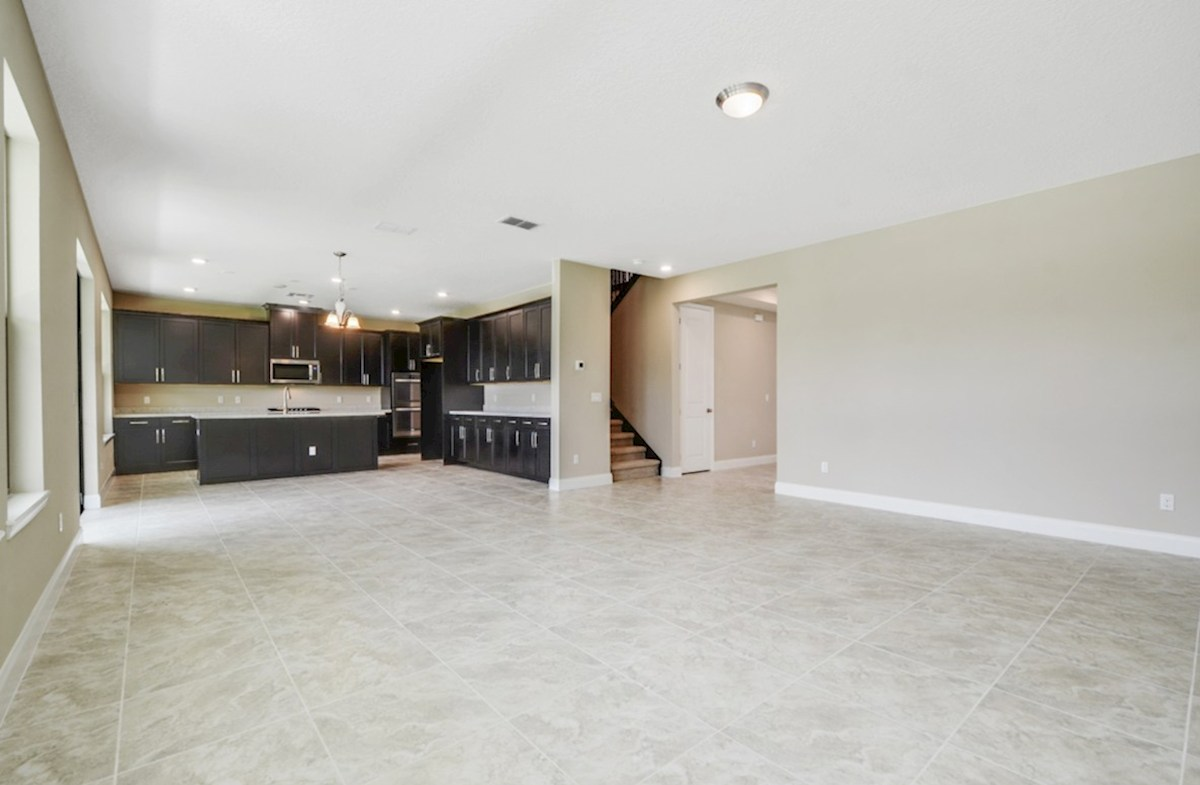 Luciana quick move-in kitchen with double ovens