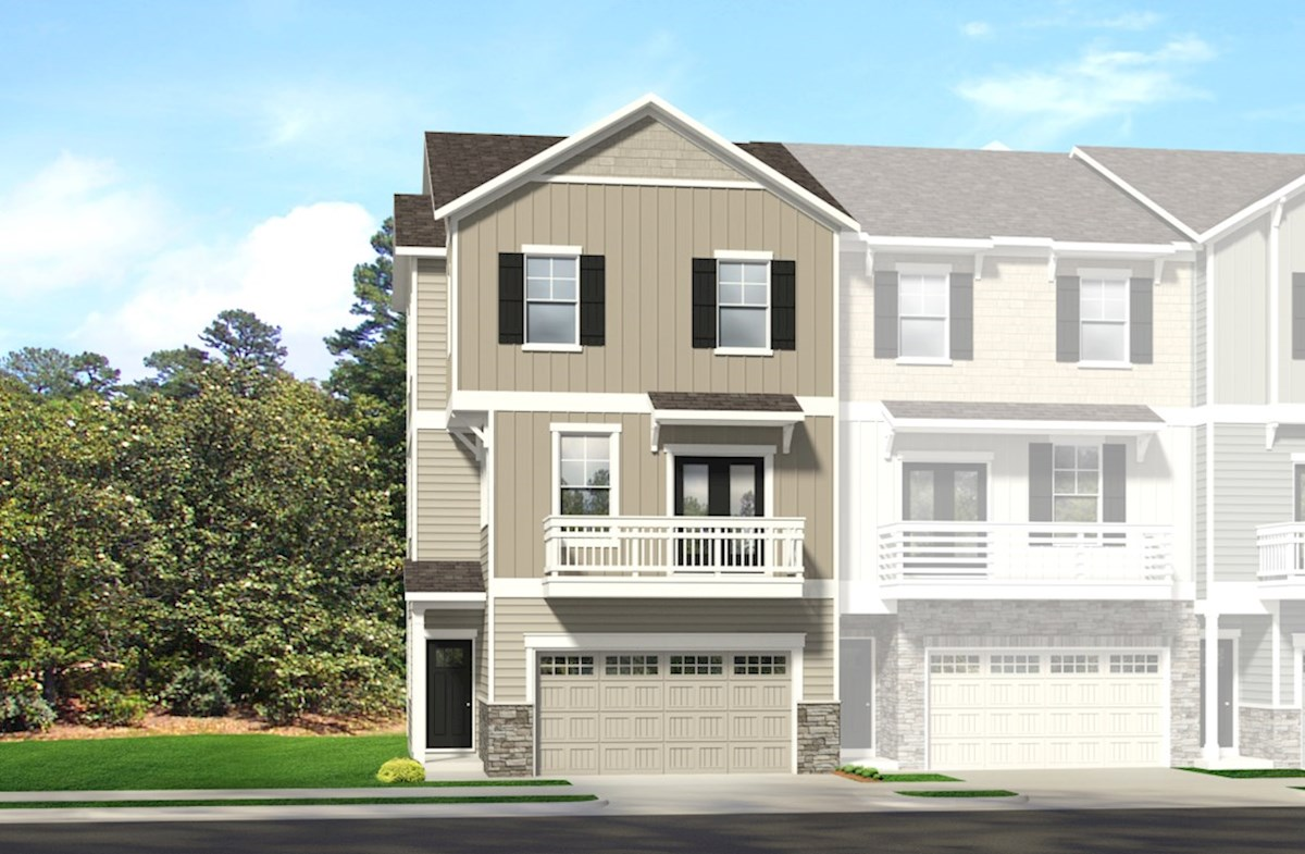 Salem Home Plan in Peak 502, Apex, NC | Beazer Homes - Beazer Homes